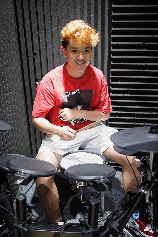 học trống điện, trống cơ acoustic tại Việt Thương Music