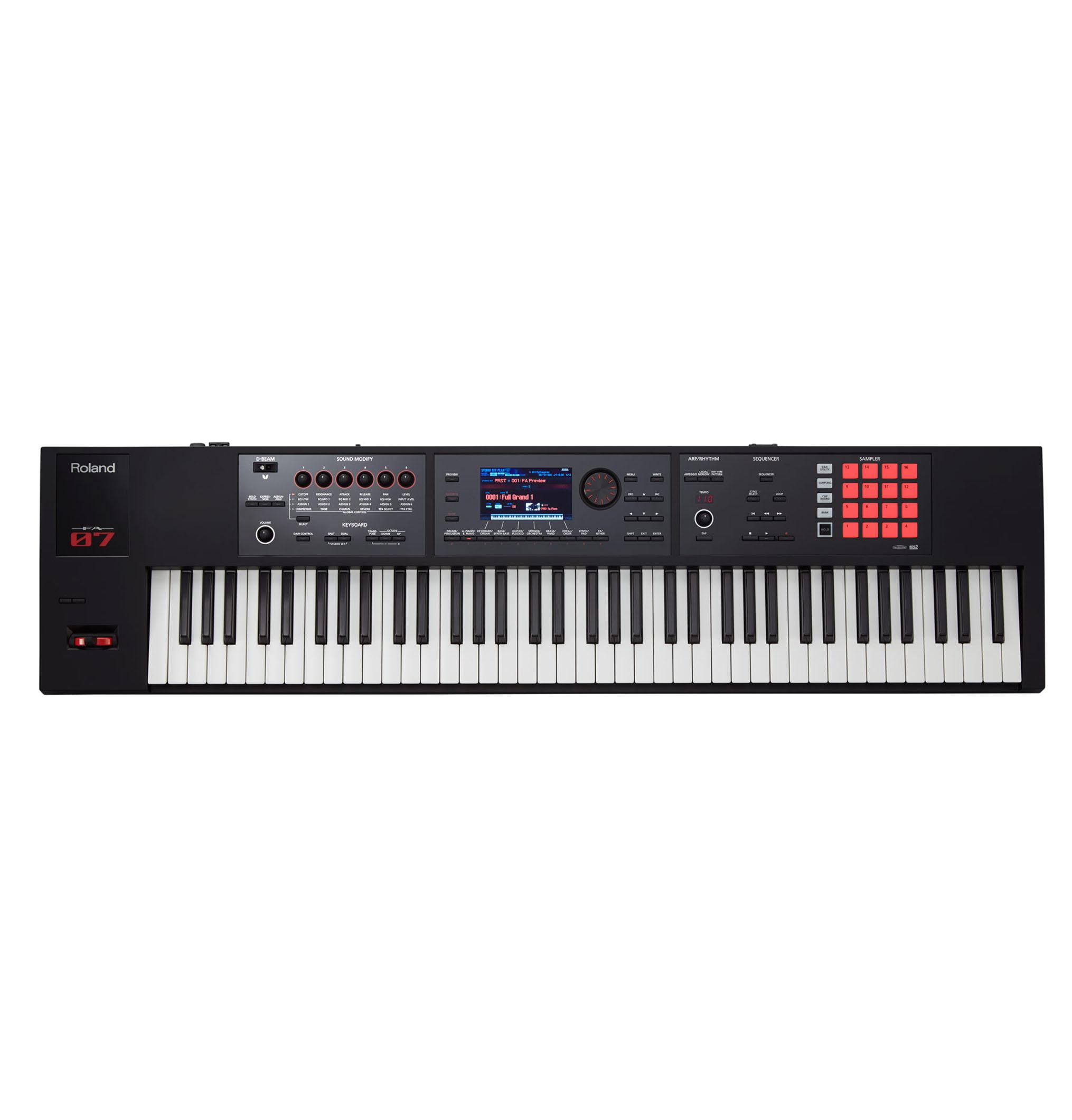 đàn organ Roland FA07