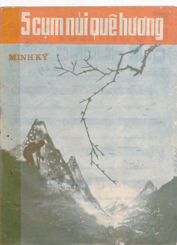 Sheet nhạc bài hát năm cụm núi quê hương 1